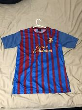 Mens Large Barcelona Soccer Jersey