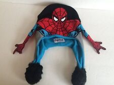 Flipeez squeeze and flip Marvel Spiderman cap hat beanie One Size as seen on tv