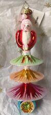 "Christopher Radko Vintage Collection ""Santa Tree"" #1010581 - 11"" - 2003 - New"