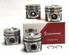 FORD MAZDA CITREON PEUGEOT 1.4 TDCi/CD/HDi SET OF 4 PISTONS STD WITH RIKEN RINGS