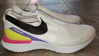 Nike Women Epic Phantom React FK JDI Fuchsia White CI1290-100 Shoe Size 11.5 Pin