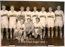 fútbol mundial 1958 Alemania 4 plaza fan Big card Edition a48