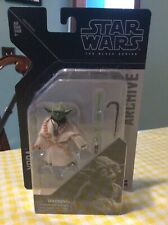 Hasbro Star Wars The Black Series Archive Yoda 6-Inch Scale Action Figure MOSC