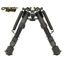 "TipTop® Rifle Bipod EZ Swivel Sling Stud Mount Adjustable Legs 6 - 9"""