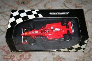 MINICHAMPS 1/18 FERRARI F300 EDDIE IRVINE F1 FORMULA 1 RACING CAR