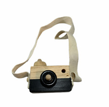Kids Children Baby Mini Wooden Camera Take Photo Educational Learning Toys Gift