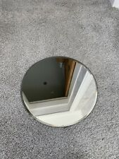 10 Inch Round Glass Mirror. (11 Available)