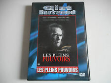 DVD  - LES PLEINS POUVOIRS - CLINT EASTWOOD - ZONE 2