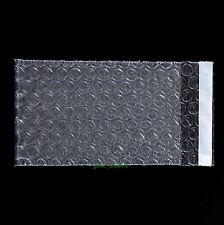 """600 PCS Clear Bubble Pouches Envelopes Wrap Bags 2.5"""" x 3""""_65 x 80+20mm"""