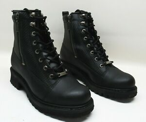 Milwaukee Motorcycle Clothing Co. Mens Accel Leather Boots-EE Width - MB40840