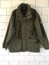 Da Uomo Vintage con Fjallraven G-1000 Verde Urbano Giacca Invernale Cappotto Medio #31