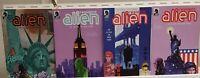 Resident Alien An Alien in New York 1 2 3 4 Complete Set Series Run 1-4 VF/NM