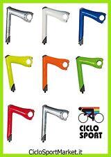 Columna / Pipa / Soporte Manillar aluminio para bicicleta Fijo / Fixed - 25,4