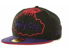 b0e211b3baed19 Chicago Bulls Era NBA Hardwood Classics Sole City 59fifty Cap Hat Size 7 1 2