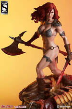 SIDESHOW EXCLUSIVE RED SONJA SHE DEVIL WITH A SWORD PREMIUM FORMAT STATUE CONAN