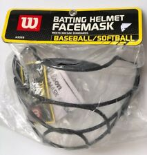Wilson Softball/Baseball Batting Helmet ~ Face Mask A3059 NOCSAE Approved NEW
