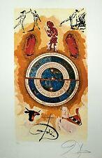 Lyle Stuart Tarot de impresión de Salvador Dali: rueda de la fortuna edición limitada firmada