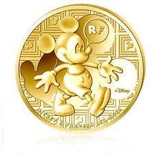 50 Euro Gold ©Disney Mickey Mouse 2016 PP im Etui mit Zertifikat