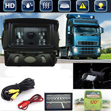 HD CCD Waterproof Backup Rearview Camera For Bus Truck Caravan Motorhome 12V-24V