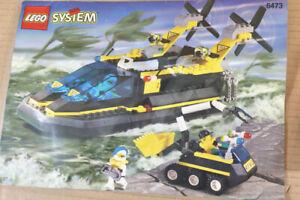 LEGO 6473 SYSTEM TOWN CITY RES-Q HOVERCRAFT SET