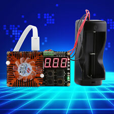 1PC 18650 li-ion Lithium Battery Capacity Meter Discharge Tester + LED Indicator