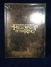 The Lord of the Rings: The Fellowship of the Ring (DVD, 2002, 4-Disc Set) Ext Ed