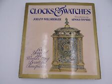 HARDCOVER - CLOCKS & WATCHES 600 YEARS WILLSBERGER ARNOLD TOYNBEE
