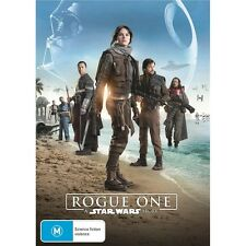 ROGUE ONE:A Star Wars Story-DVD-Felicity Jones-Region 4-New AND Sealed