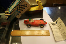 Vintage Scalextric Vanwall Slot Car used estate purchase untested with BOX JSH