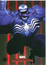 Marvel Masterpieces 2007 Spiderman Foil Parallel Chase Card S3 Venom