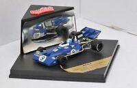 QUARTZO 4030 4037 4047 4064 TYRRELL F1 model car J Scheckter & F Cevert 1:43rd