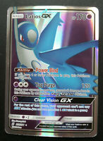 Pokemon card Latios GX 223/236 Basic RARE FULL ART HOLO PROXY CARD