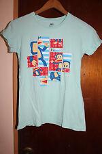 Paul Frank Women's Light Blue T Shirt Size Small