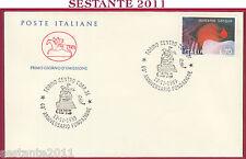 ITALIA FDC CAVALLINO FONDAZIONE AVIS DONIAMO SANGUE 1989 ANNULLO TORINO U580