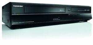 TOSHIBA RDXV60 DVD VHS VCR HDD 320GB Recorder Player 24 Months RTB Warranty