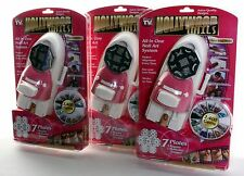 Hollywood Nails All in One Professional Nail Art System As Seen On TV SET of 3