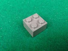LEGO (3003) 2x2 - GRIGIO SCURO DUNKELGRAU GRAY , 1 Mattoncino Brick Basic Steine