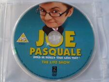 JOE PASQUALE - THE LIVE SHOW  DVD