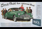 BUICK 1945 VINTAGE AD REPRO NEW A2 CANVAS GICLEE ART PRINT POSTER FRAMED