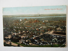 Hamilton from the Mountain Old Postcard 1917