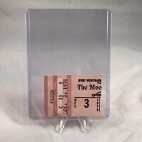 The Moody Blues Checkerdome St Louis MO Concert Ticket Stub Vintage Dec 3 1978