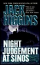 Night Judgement at Sinos by Jack Higgins (1997, Paperback)