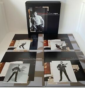 Johnny-Coffret-Edition limitée&numérotée-Les années Vogue-DVD&CDS&LIVRE
