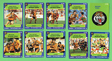 1990 BALMAIN TIGERS  STIMOROL RUGBY LEAGUE CARDS