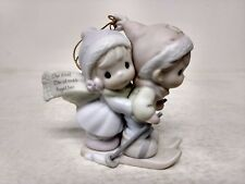 Precious Moments Our First Christmas Together 96 Porcelain Ornament 183911 ch105
