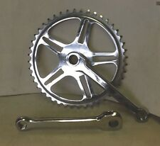 "New chainset suit 24"" kids .steel cottered Chainset 44t  for derailer gears"
