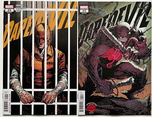 Daredevil #25 Cover A & B Knullified SET | 1st App Elektra Daredevil | NM | 2020