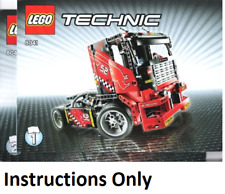 NEW INSTRUCTIONS ONLY LEGO RACE TRUCK 8041 Technic books manuals from set