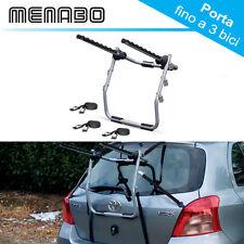 Portabici Posteriore Kia Venga 2014 - 2017 max 3 bici acciaio