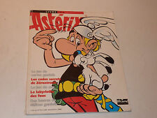 UDERZO ASTERIX 1994 LIVRE JEU IFRANE game book BD labyrinthe CARTE playing card